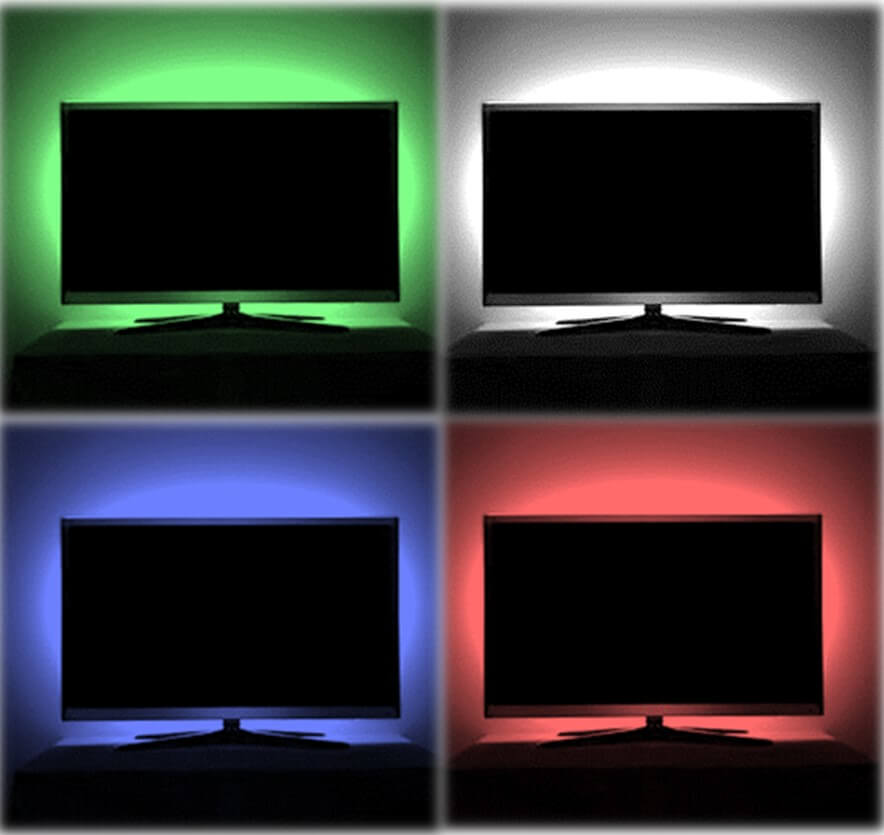 RGB USB TV led strips